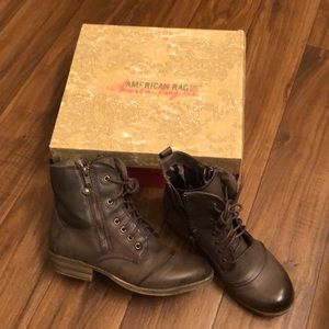 American Rag Shoes - American Rag Combat-style boots size 7.5 US